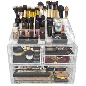 Lincoln 4-Drawer Cosmetic Organizer