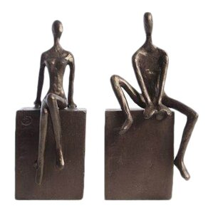 Man & Woman Book Ends (Set of 2)
