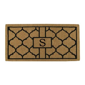 Personalized Trellis Doormat
