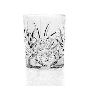 Dublin Crystal Double Old Fashioned Glass (Set of 4)