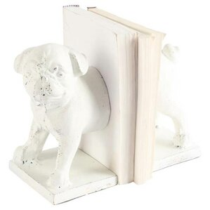 Dog Cast Iron Bookends