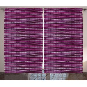 Where to shop Mauricio Magenta Vintage Knit Pattern Featured VariDecorations of Pink Tone Nostalgic Vivid Art Graphic Print & Text ...