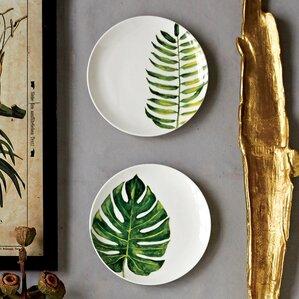 Henrietta 2-Piece Stoneware Plate Set