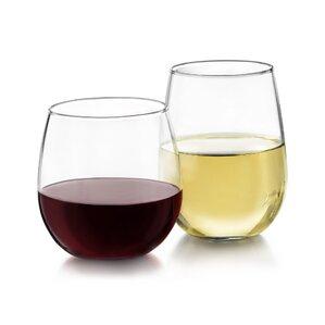 12-Piece Stephanie Stemless Wine Glass Set