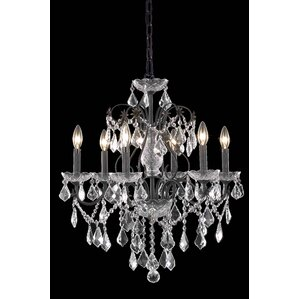 Chauncy 6-Light Crystal Chandelier