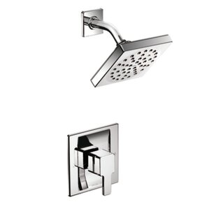 90 Degree Posi-Temp Shower Faucet Trim with Lever Handle by Moen