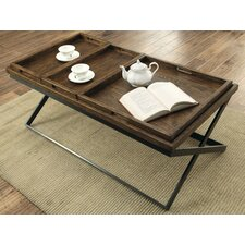 Evansville Coffee Table with Tray Top by Laurel Foundry Modern Farmhouse