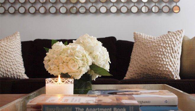 5 Living Room Organization Tips