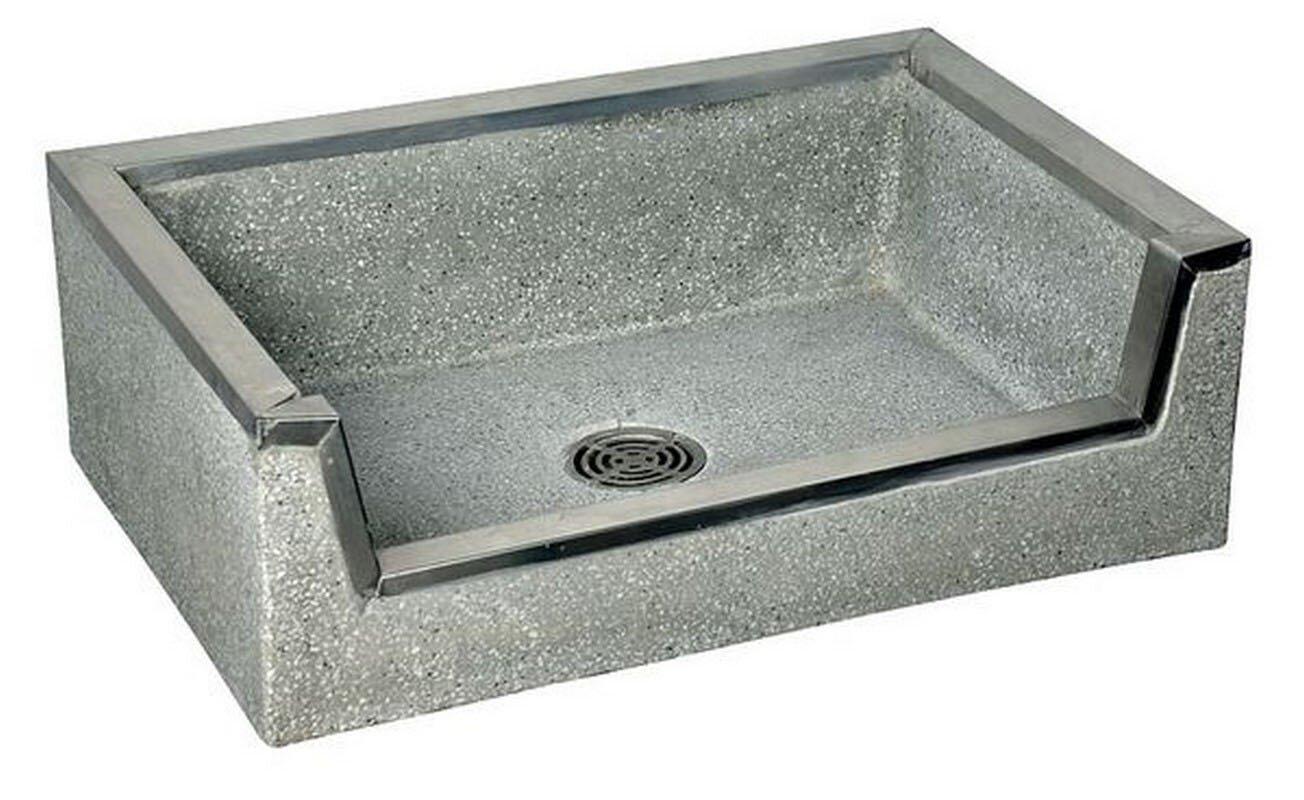 american standard fiat terrazzo rectangular vessel bathroom sink ... - Terrazzo Kitchen Sinks