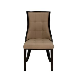 Romford Rubberwood Upholstered Dining Chair