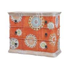 Gavyn 3 Drawer Standard Dresser by Bungalow Rose