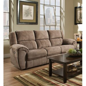Simmons Genevieve Double Motion Reclining Sofa by Red Barrel Studio