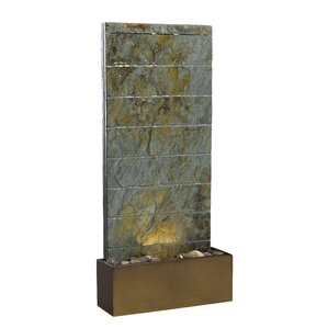 Resin/Natural Stone Fountain With Light