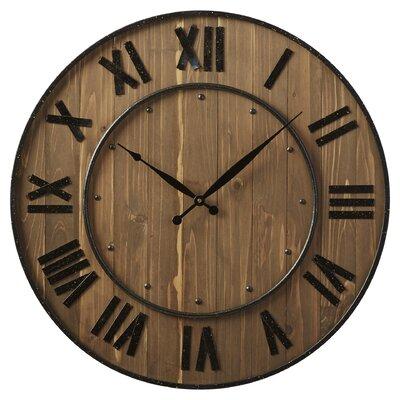 "Northrop Wine Barrel 24"" Wall Clock"