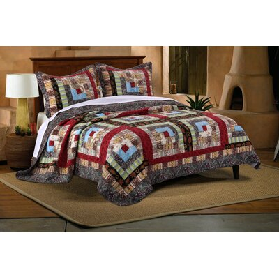 Colorado Lodge Reversible Quilt Set