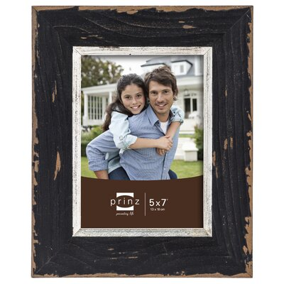 Crawford Distressed Wood Picture Frame