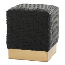 Emmit Leather Ottoman by ARTERIORS Home