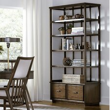 Santa Clara Lateral File 80 Etagere Bookcase by Stanley Furniture