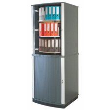 Lockfile Binder and File Carousel Cabinet 99 H Six Shelf Shelving Unit by Moll
