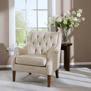 Rogersville Button Tufted Armchair by Three Posts