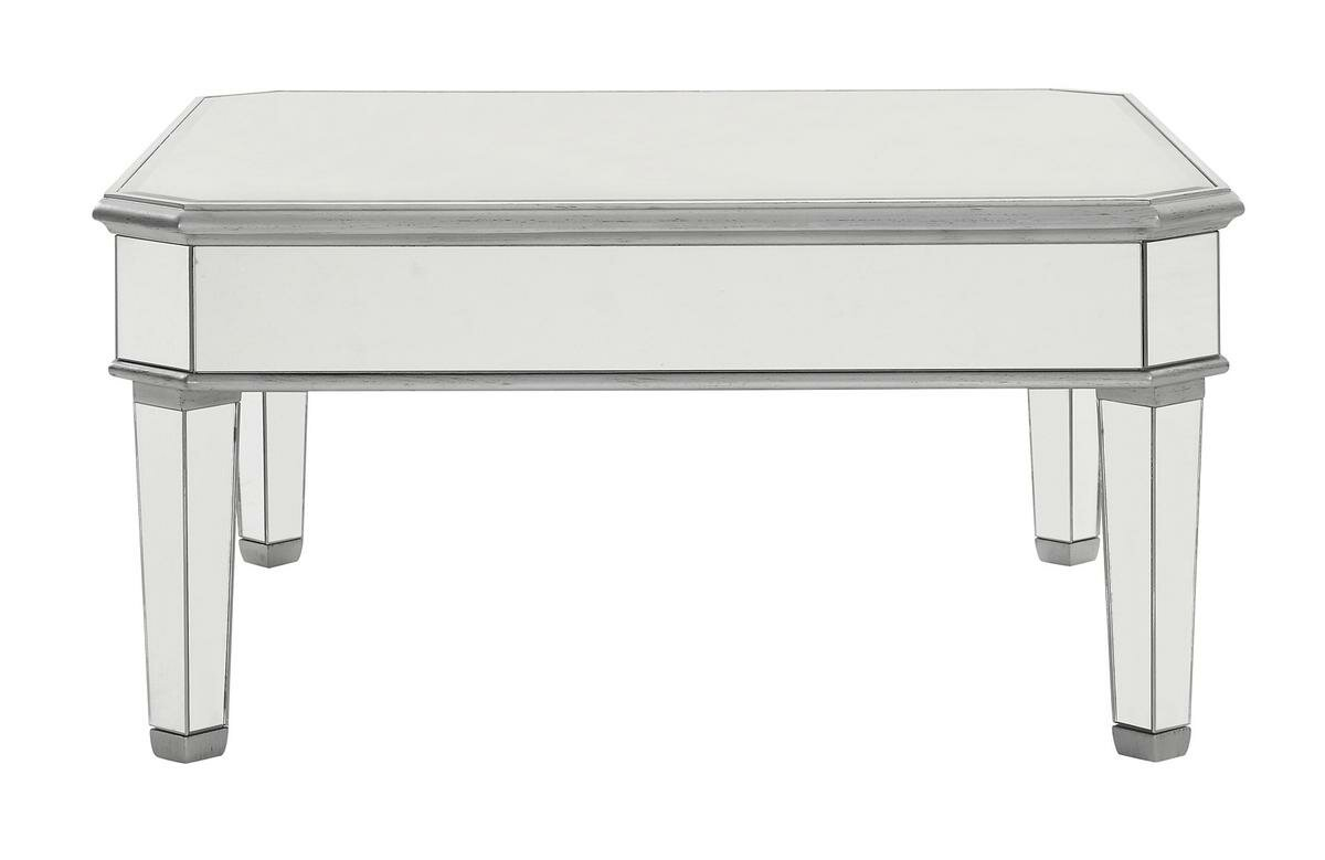 Rosdorf Park Orpha Glass Top Coffee Table Reviews