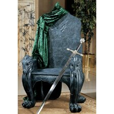Celtic Dragon Throne Armchair by Design Toscano