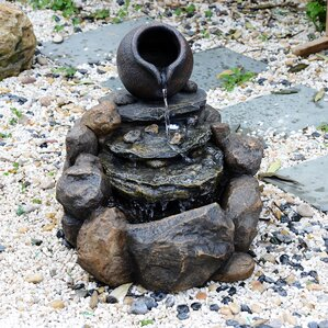 resin pouring jar water fountain