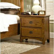Pasilla 2 Drawer Nightstand by Imagio Home by Intercon