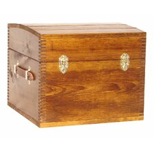 Deluxe Half Trunk with Leather Handles by Evans Sports