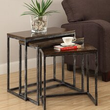 Wheeler 3 Piece Nesting Tables by Trent Austin Design