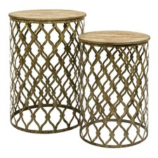 Maridell 2 Piece Nesting Tables by IMAX