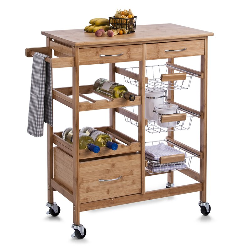 zeller kitchen trolley reviews wayfair co uk