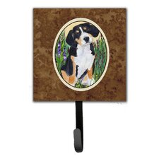 Entlebucher Mountain Dog Leash Holder and Wall Hook by Caroline's Treasures