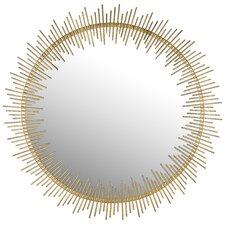Maxim Round Sunray Circle Wall Mirror