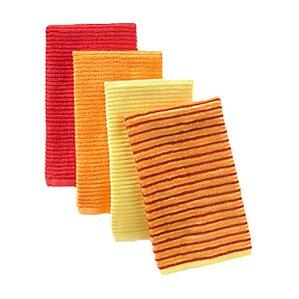 bar mop towel set of 4. beautiful ideas. Home Design Ideas