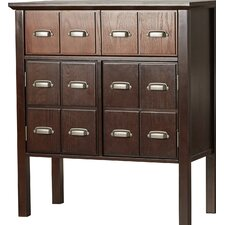 Hecker Vintage 2 Drawer Storage Cabinet by Darby Home Co