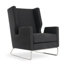Danforth Wing back Chair by Gus* Modern