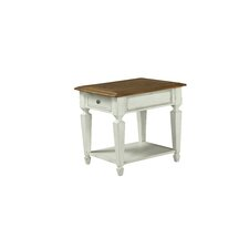 Topsfield Rectangular End Table by Beachcrest Home