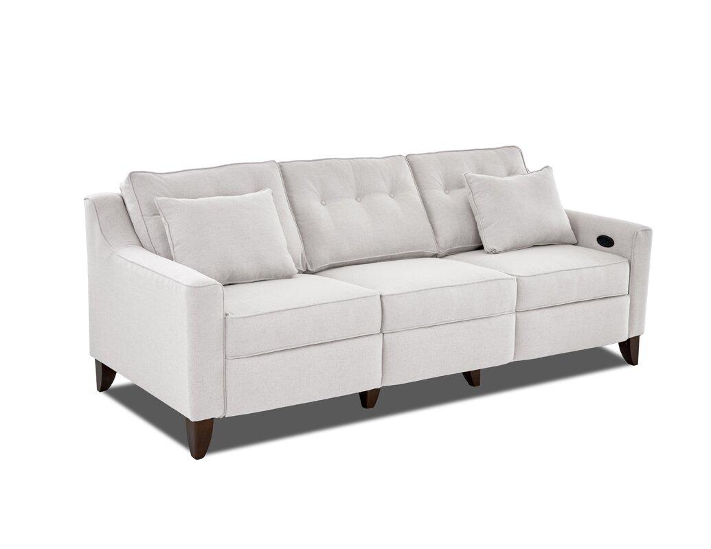 reclining loveseats & sofas you'll love | wayfair