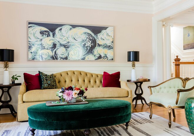 How To Decorate A Large Wall Wayfair - Large artwork for living room