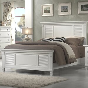 Norfolk Panel Bed by Beachcrest Home