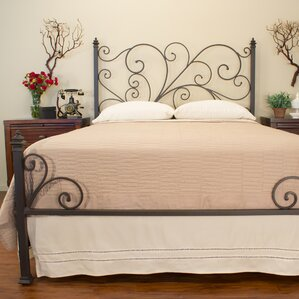 Ashley Panel Bed by Benicia Foundry and Iron Works