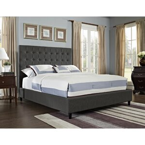 Queen Upholstered Panel Bed by Powell Furniture