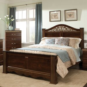 King Panel Bed by Standard Furniture