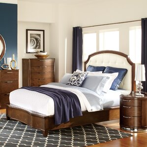 Zelda Upholstered Panel Bed by Woodhaven Hill