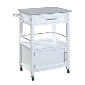 Kitchen Cart With Granite Top By Linon Online Cheap