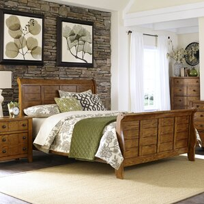 Sleigh Bed by Liberty Furniture