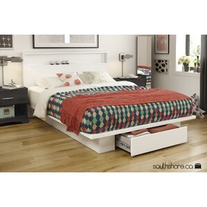Holland Full/Queen Platform Bed by South Shore