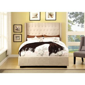 Estelle Upholstered Panel Bed by Hokku Designs Online Cheap