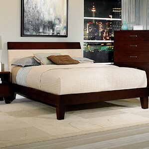 Claran Upholstered Panel Bed by Woodhaven Hill